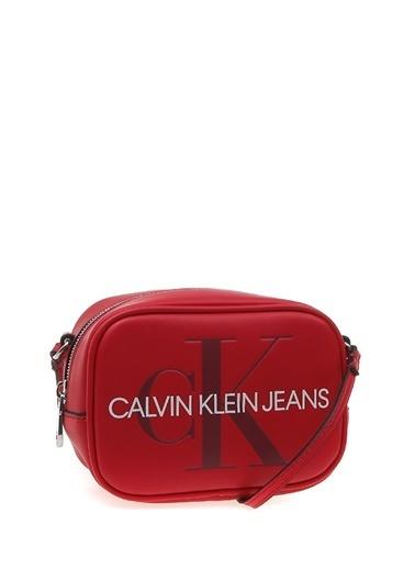 Calvin Klein Clutch / El Çantası Bordo